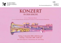Flyer Kirchenkonzert 2008