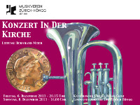 Flyer Kirchenkonzert 2013