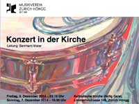 Flyer Kirchenkonzert 2014