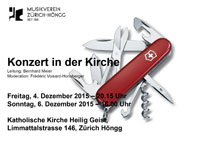Flyer Kirchenkonzert 2015